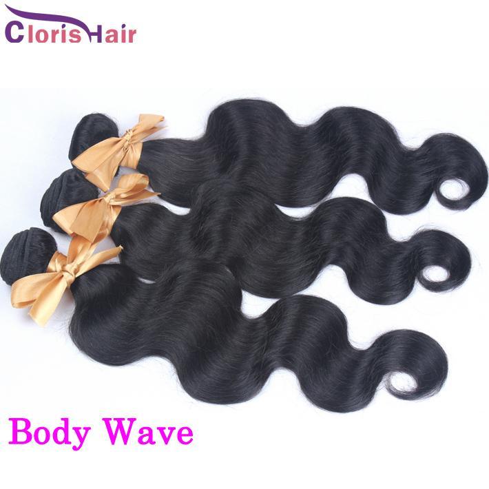 Profonde bouclée brute vierge indienne brésilienne péruvienne malaisienne de corps de corps lâche bundles poils de cheveux humains non traités vernissages kinky