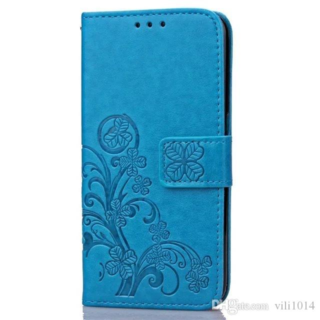 Four Leaf Clover Case for LG G3 Cover LG G3 Stylus Flip Wallet Case LG G3 Cover Phone Coque Hoesjes PU Leather