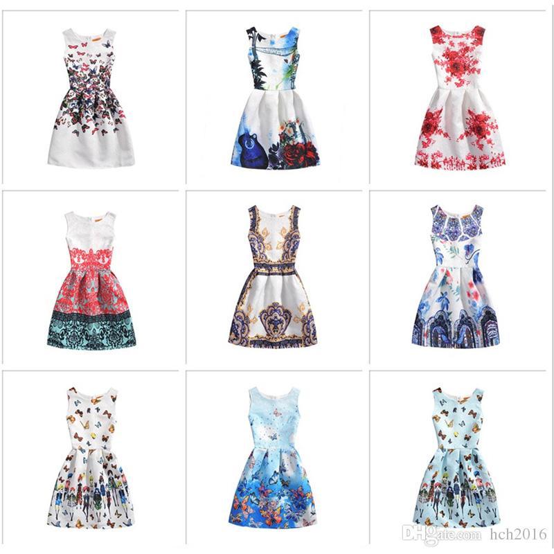 Cheap Polka Dot Maxi Dress Vintage Cute Vintage Ankle Length Formal Dress 807c2cbb4