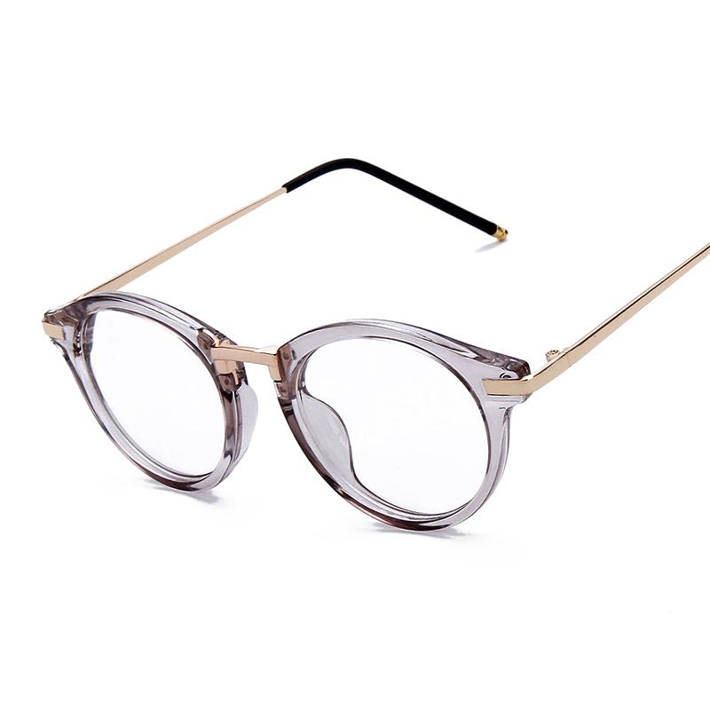 feb1f32ed03 Wholesale- Women Eyeglasses Fashion Myopia Optical Computer Glasses Frame  Brand Design Plain Eye Glasses Oculos De Grau Femininos F15018 Glasses  American ...