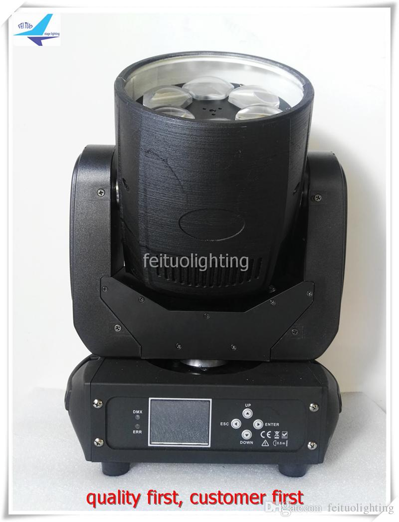 2Xlot mini bee eye led light mini moving head manual 6*40w high power 4in1 rgbw moving head led