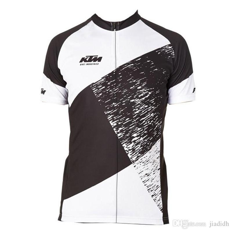 KTM equipo ciclismo mangas cortas jersey nuevo off-road motocicleta locomotora al aire libre de manga corta camiseta traje de montar a caballo de moda D301