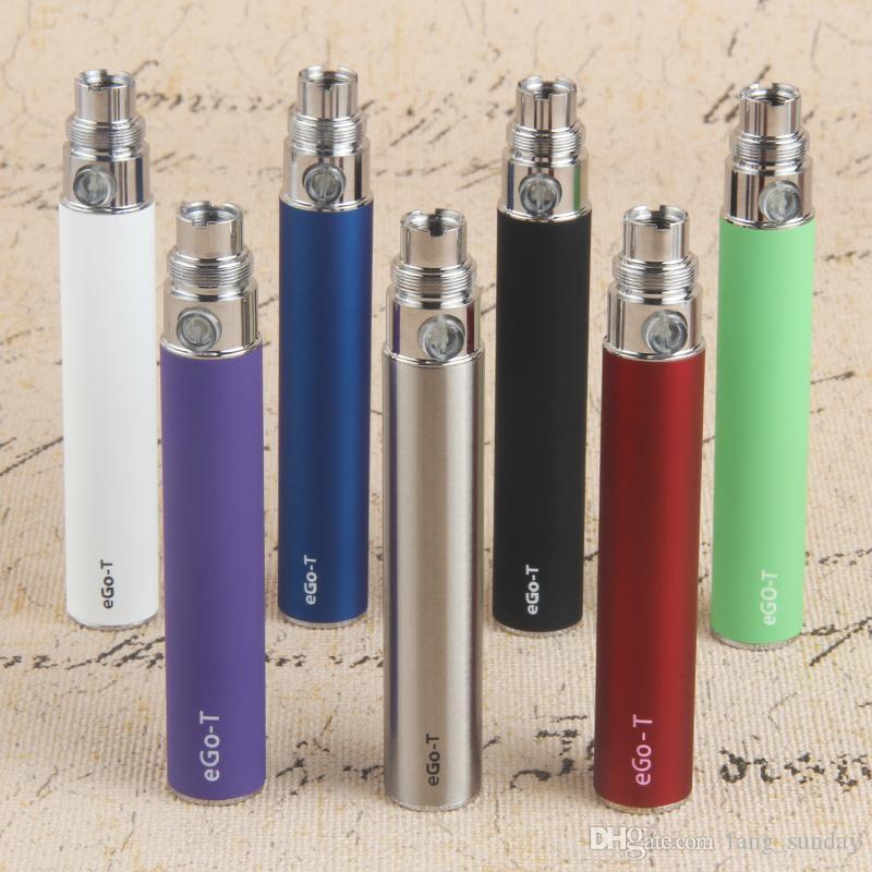 650 900 1100mAh eGo T Cera Vape Pen E Cigarette 510 Thread Battery Match Glass Globe Vaporizador CE4 CE5 E Cigs Shisha Bolígrafos
