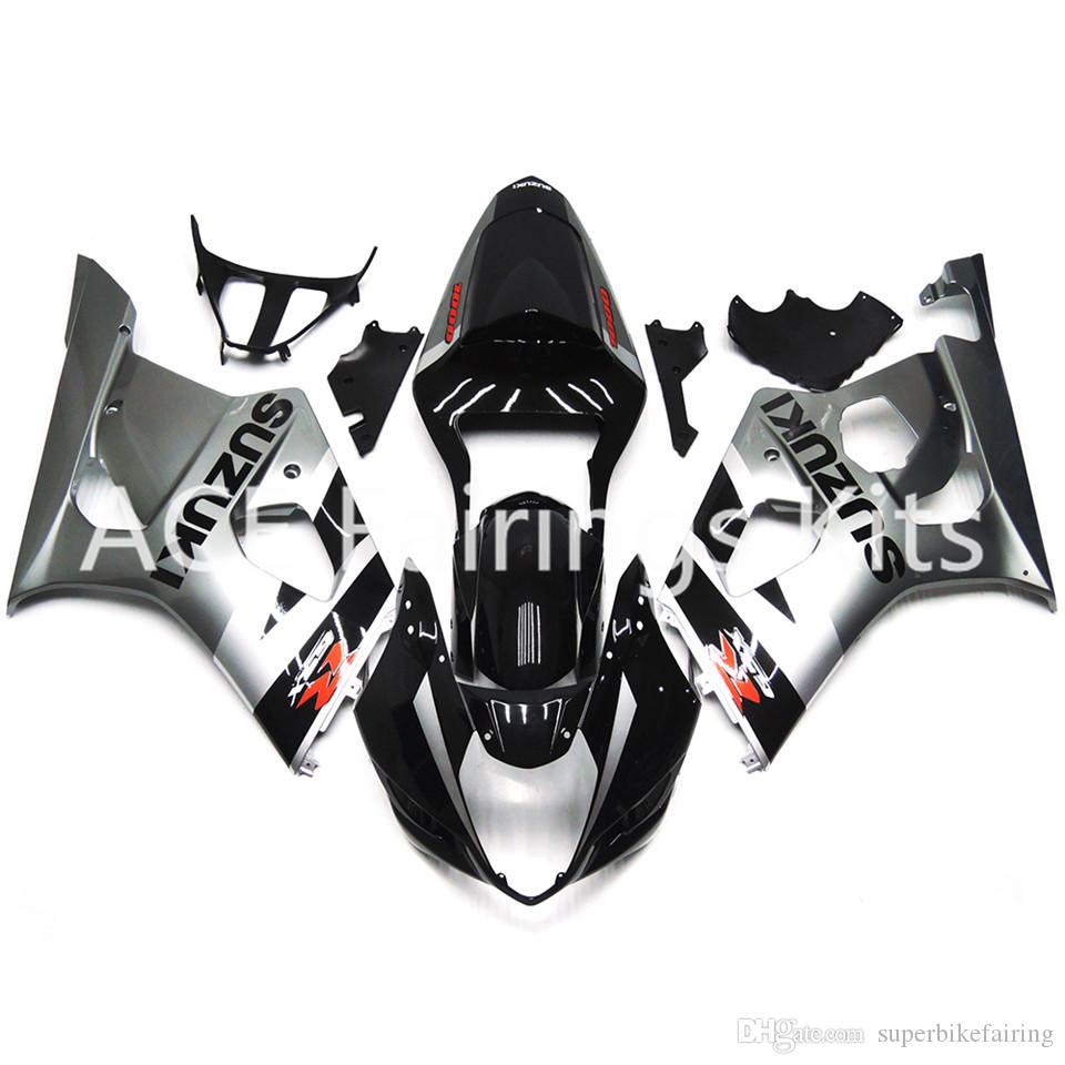 3 free gifts New Suzuki GSXR1000 K3 03 04 GSXR 1000 K3 2003 2004 Injection ABS Plastic Motorcycle Fairing The Cool silver bb6