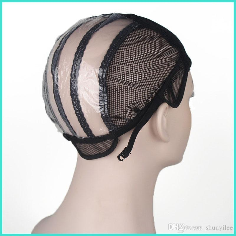 Peruk yapmak için kapaklar peruk streç dantel dokuma kap ayarlanabilir sapanlar geri insan uzantıları peruk araçları ZA2334