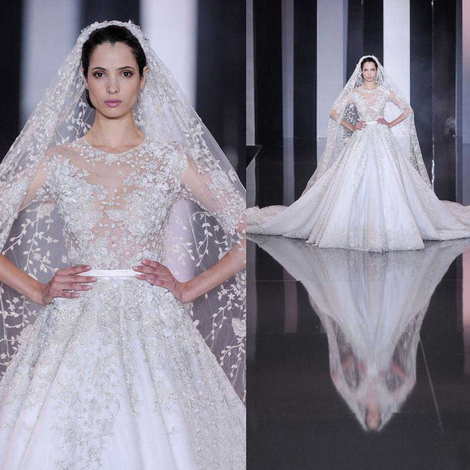 Luxury Designer Tulle Wedding Dresses 2017 New Arrival Fashion ...