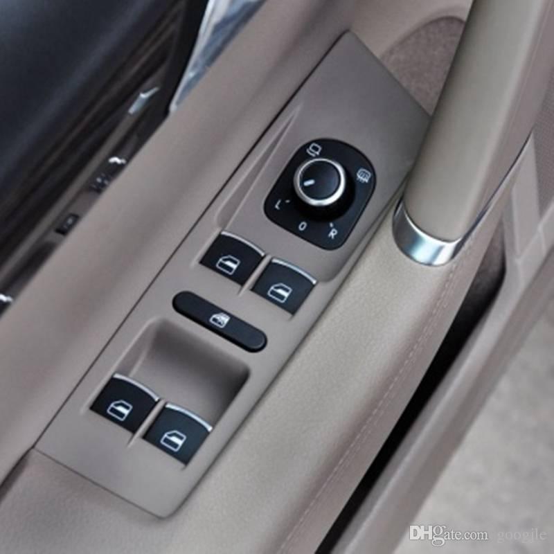 OEM Cromo Lateral Espelho Interruptor de Dobrar Botões de Controle Para VW Passat B6 3C Golf GTI MK5 Jetta MK5 MK5 Coelho Tiguan 5ND 959 565 A
