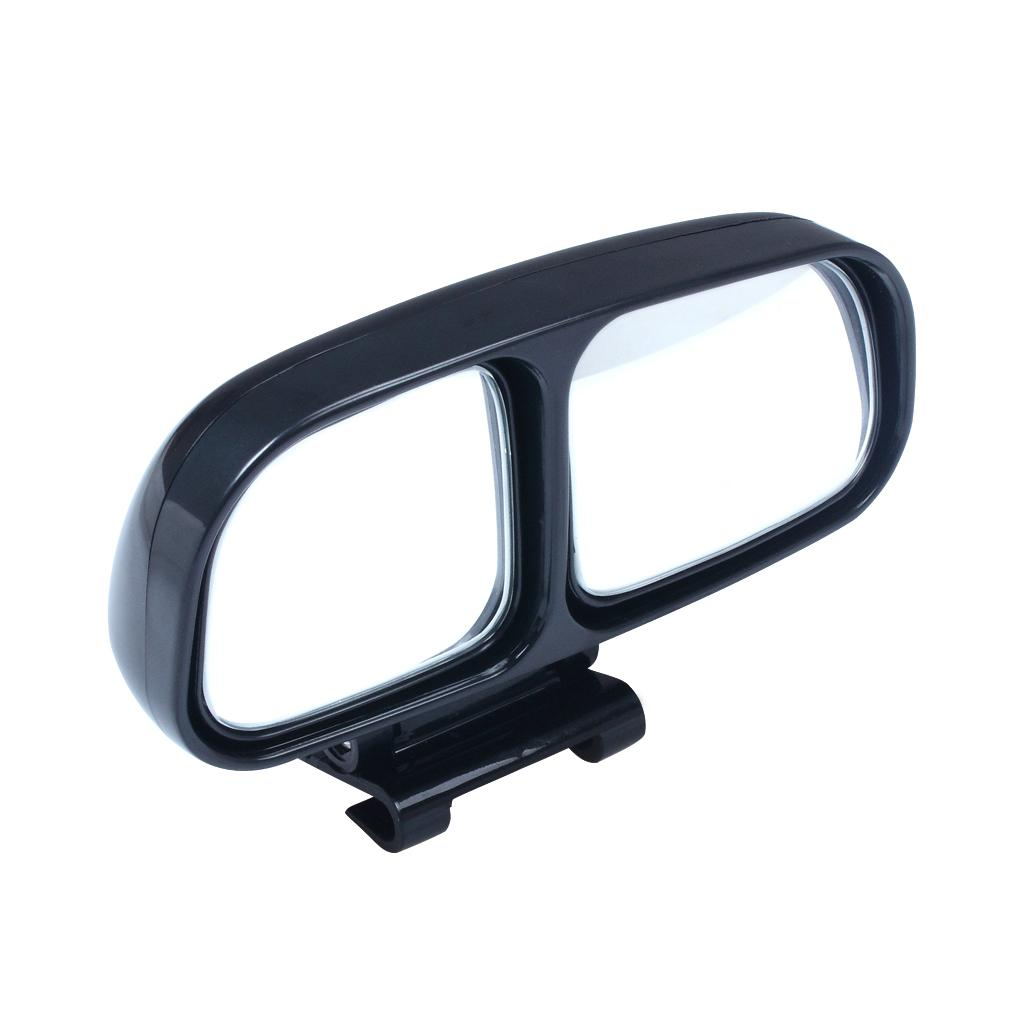 Samochód ABS Niewidomy Spot Samochód Widok z tyłu Side Szeroki Kąt Widok Lustro Pojazd 2 Lustro Wewnątrz Czarny Kolor Nowy