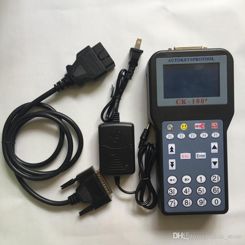 Nouvelle arrivée Auto Keys Pro CK100 Programmeur automatique SBB V99.99 Programmeur automatique de clés Silca CFF