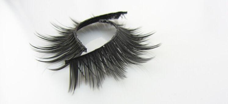 Großhandels-SHILINA 3004 falsche Wimpern 1lot / 20 Paar handgemachtes gefälschtes Auge peitscht natürliches starkes mit Kleinkasten-Berufsmake-up