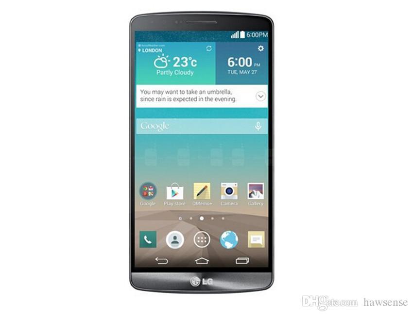 Refurbished Original LG G3 D850 D855 4G LTE 5.5 inch Quad Core 2/3GB RAM 16/32GB ROM 13MP Unlocked Android Smart Phone DHL