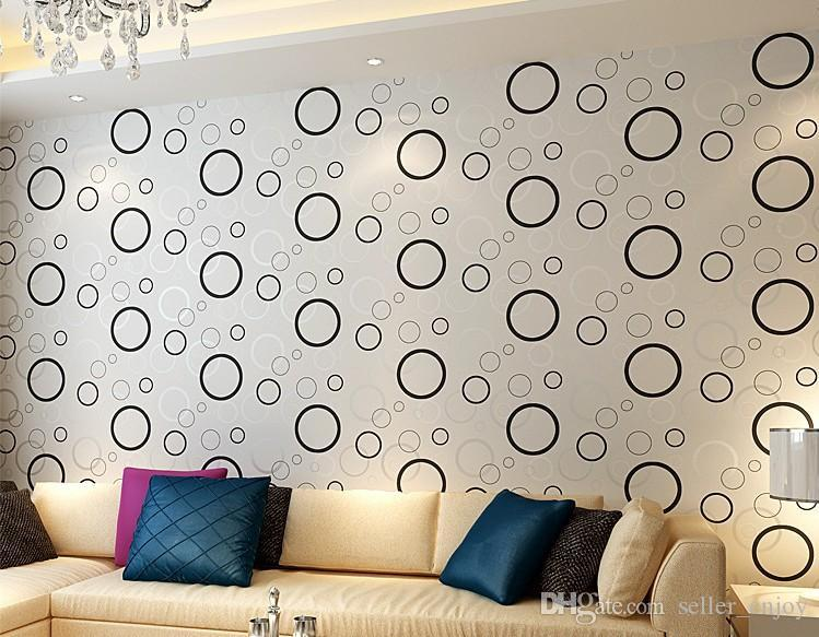 3d circle design wallpaper bubble diy wall sticker wallpaper