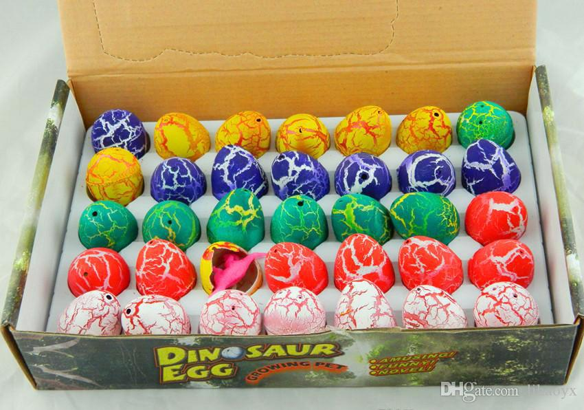 Easter Egg dinosaur eggs dinosaur Easter Egg variety of animals eggs can hatch out animals creative toys 2.5*3.2cm a295