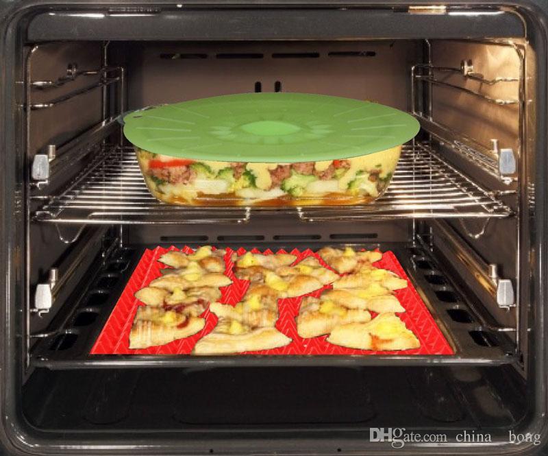 الغذاء الصف الهرم خبز عموم نونستيك سيليكون الخبز حصيرة منصات طريقة سهلة ل فرن الخبز صينية ورقة أدوات المطبخ 40.5 * 29 cm dhl