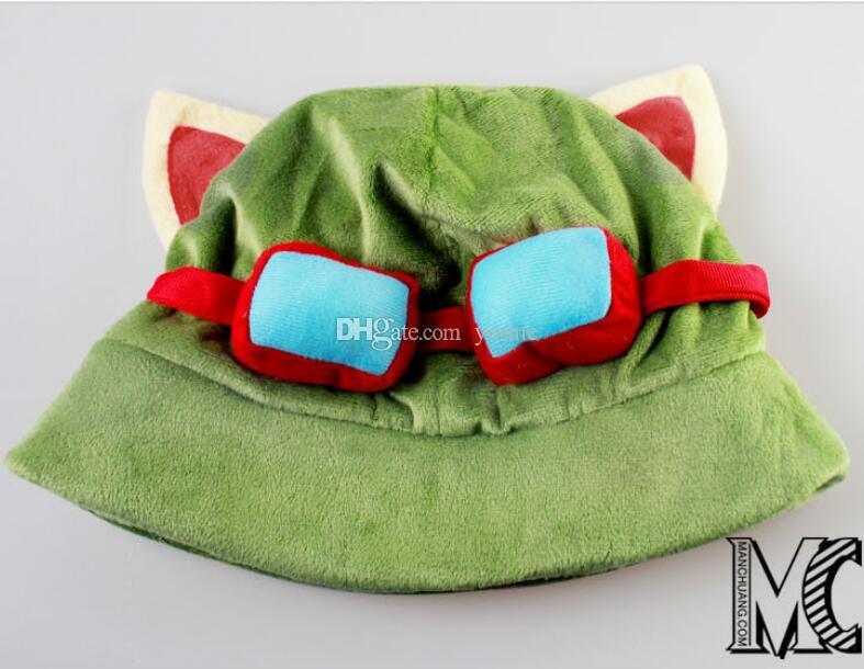 League of New Legends LOL Timor Cosplay Cap Going Merry charm Cotton Snapback Caps Novelty unisex baggy warm ski cap bonnets