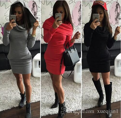 2017 Winter Autumn Women Plus Size Dress Elegant Warm Sweater