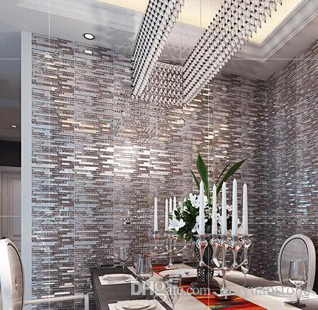 Acheter Sample Cristal Verre Mosaique Carrelage En Acier Inoxydable