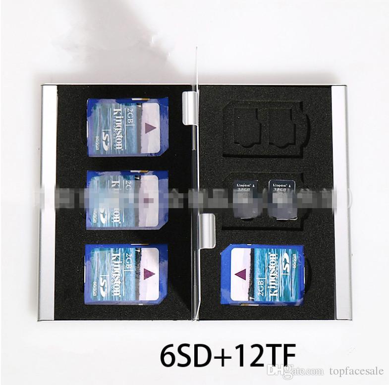 Thick SD CF TF Card Box Wholesale High Quality Camera Memory Card Box Digital Storage Box Many Colors