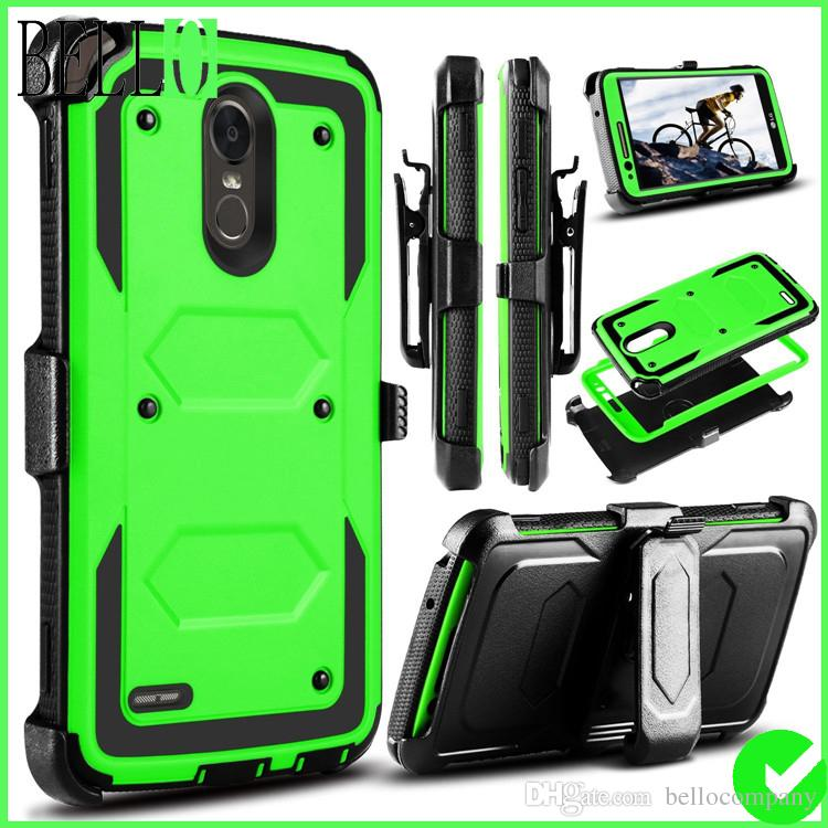 lg stylo 3 plus case. Cool Lg Stylo 3,Stylus 3,Stylo 3 Plus 2017 Case,Heavy Duty Shockproof Protection Case Cover With Swivel Belt Clip And Kickstand For Ls777/M430 Cell Phone (