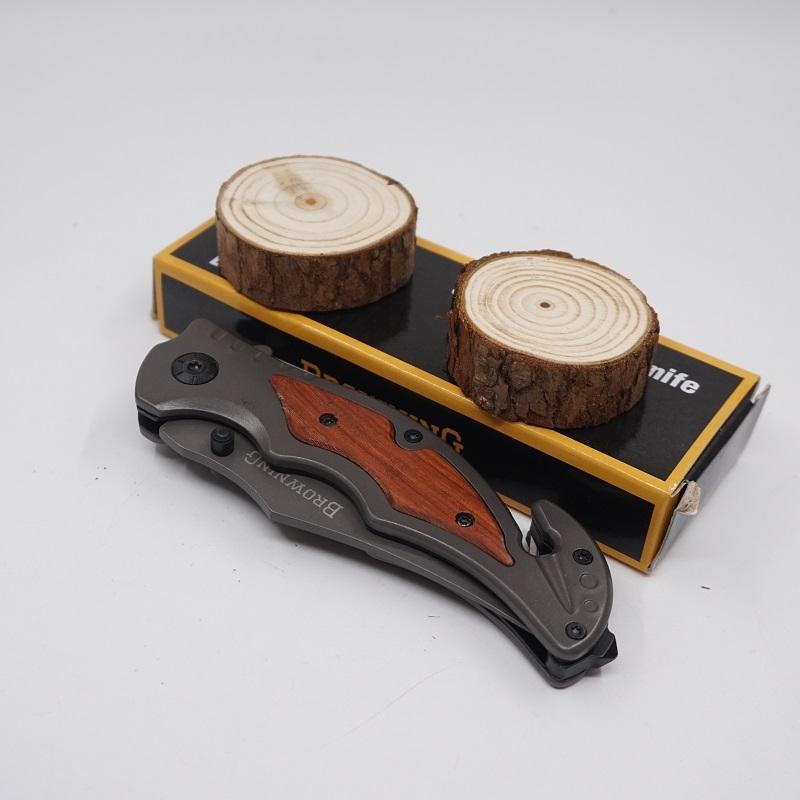 Browning messer 233 titanium faltende taschenmesser armee messer mehrzweck outdoor camping überleben messer edc werkzeug