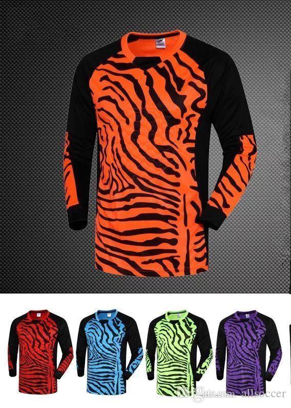 78d1f6815d6 2019 #212 Men Goalkeeper Soccer Jerseys Set Sponge Football Long Sleeve  Goal Keeper Uniforms Goalie Sport Training Suit Top Pants From Allsoccer,  ...