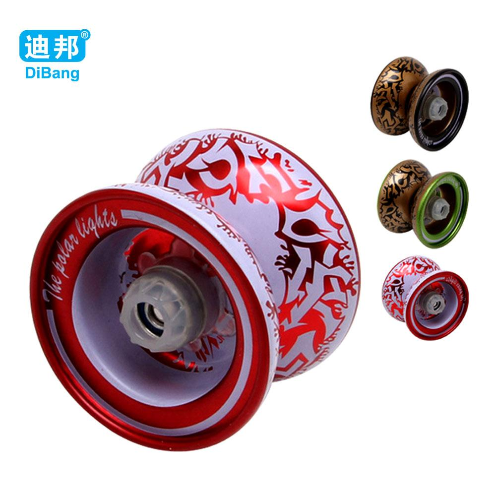 ball yoyo. alloy yoyo ball kids toys metal bearing string trick diabolo yo funny professional educational best duncan cool tricks e