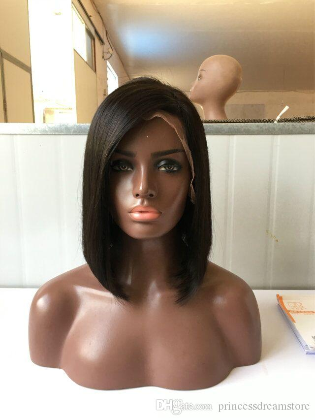 Brazilian human hair Short Human Hair Wigs For Black Women African American Wigs Capable Glueless None Lace Human Hair Wigs Fast Shipping