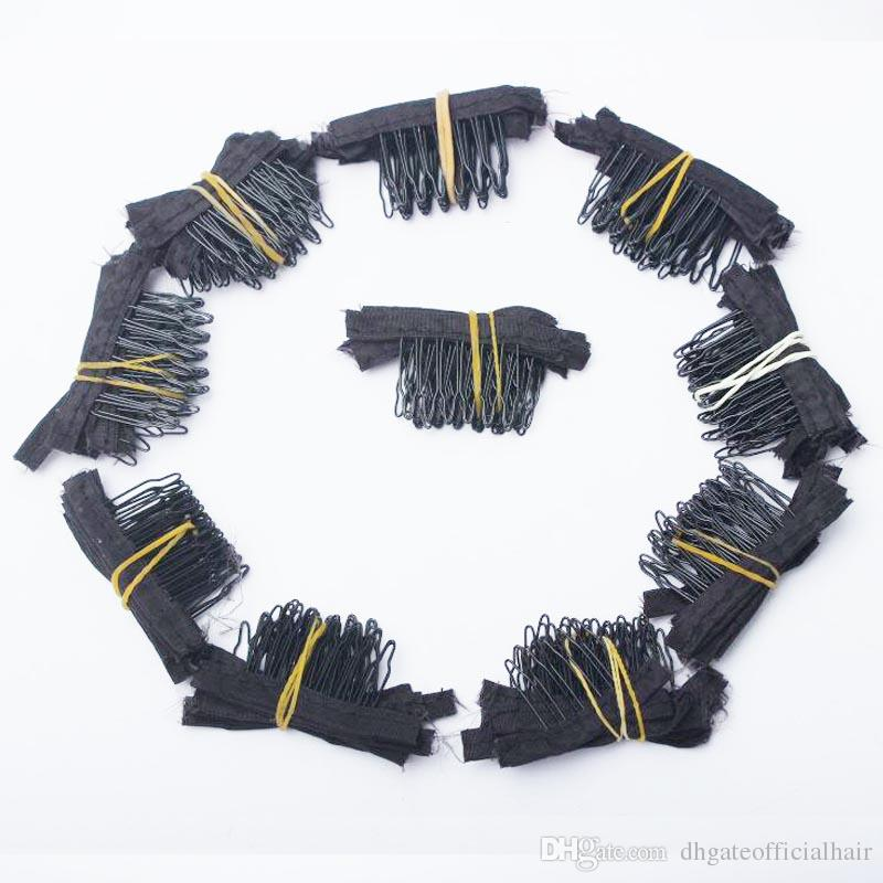 Wholesale Clips 7teeth For Wig Cap Making Combs hair extensions tools