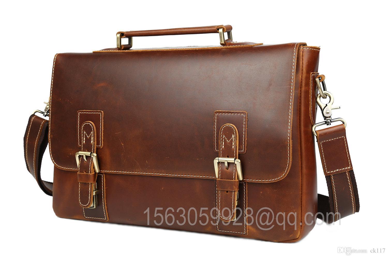 Acheter marron haute qualité mode classique occasionnels en cuir