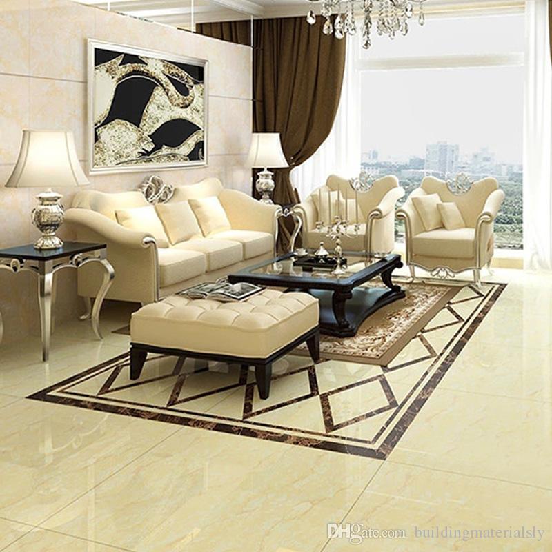 Indoor Floor Tiles Full Cast Glaze Imitation Wood Texture Matt