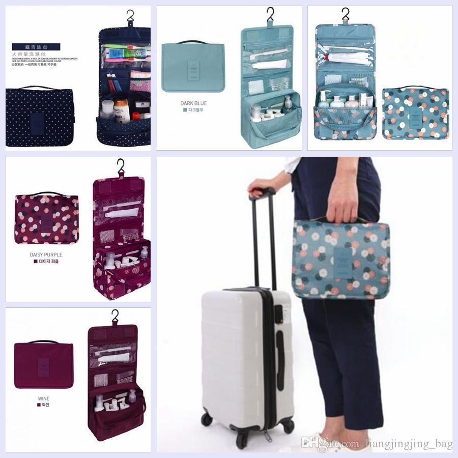 fffb1ff835c Waterproof Travel Toiletry Bag Outside Travel Foldable Waterproof Nylon  Organizer Wash Cosmetic Bag Hanging Toiletry Kit YYA246 Handbag Brands  Cheap Bags ...