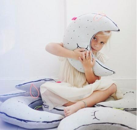 INS Light Bulb Pillow Luminous Star Pillows Baby Moon Pillow For Kids Room Stuffed Animal Owl Ghost Cushion Toys Nursey Decor ECO FRIENDL