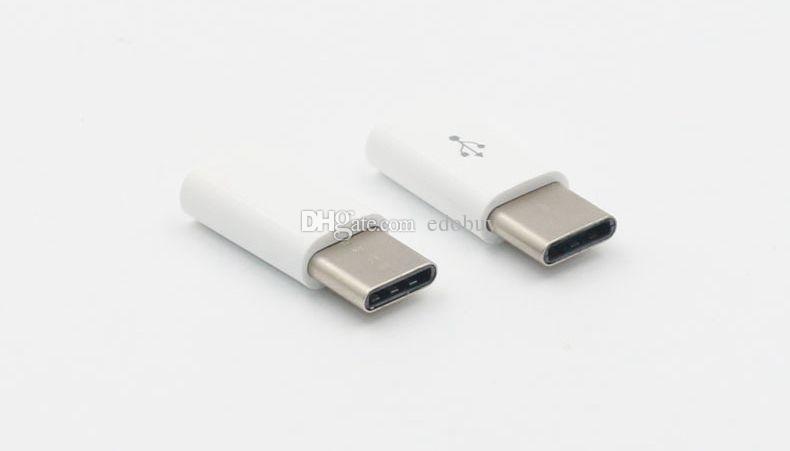 USB-C Type-C a cargador de adaptador de carga de datos micro USB para accesorios de teléfonos móviles Android nueva llegada