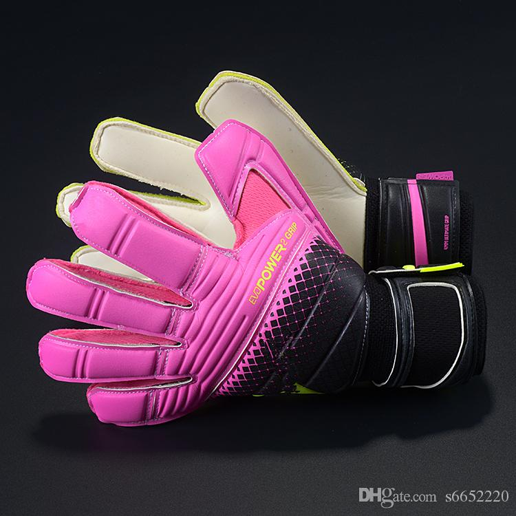 Latex Football Goalkeeper Gloves Quality Goods Movement Male Soccer Gloves Professional Soccer Goalkeeper Football Gloves