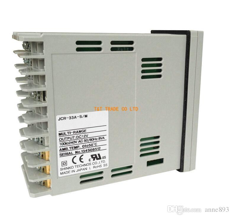 Shinko-Temperaturregler JCR-33A-S / M und JCR-33A-R / M und JCD-33A-A / M brandneues Original