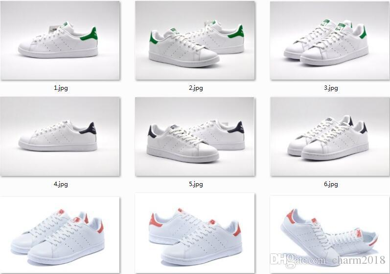 Fast Shipping New Stan Smith Shoes For Men And Women Fashion Sneakers  Casual Sport Leather Lovers Shoes Zapatos Mujer 36 44 Ladies Shoes Loafers  For Men ... be60f3038