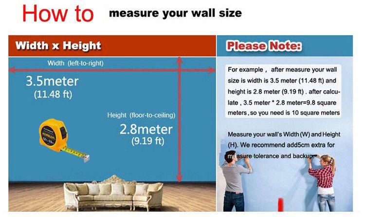 La pared del dormitorio nupcial de la venta caliente el mural grande y inconsútil se contrata la pared de la pared moderna del ajuste adorna el paño no tejido dulce
