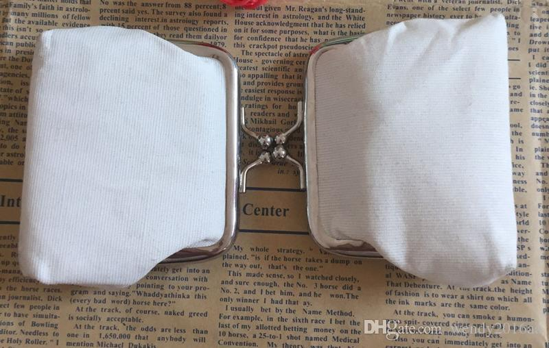 DIY white pure canvas wallet girls small coin purse blank plain craft gift clutch organizer bags travel cases handmade