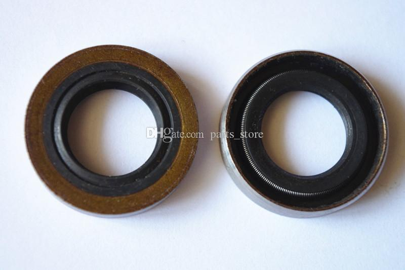 2 X Oil seals for Husqvarna Chainsaw 61 66 266 268 272 Partner P65 S55 free  shipping chain saw oil seal replacement part # 503 26 02-04