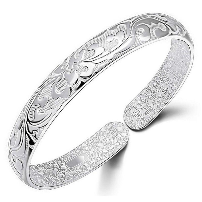 Bangle Bracelet Chinese Style Women Bangles Chinese Word Flower Bradelets Bohemian Jewelry High Quality