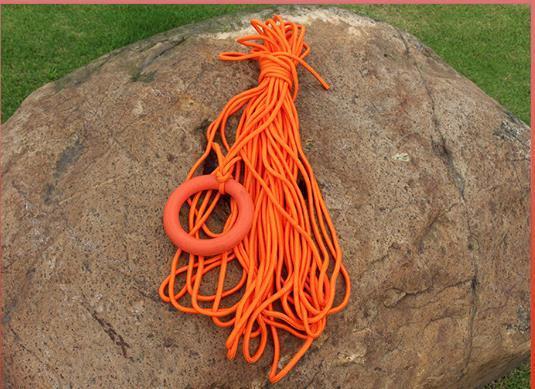 30 mètres par 8 mm de diamètre ligne de vie anneau flottant bracelet ligne de flottaison sauvetage en eau plongée en apnée sur la corde