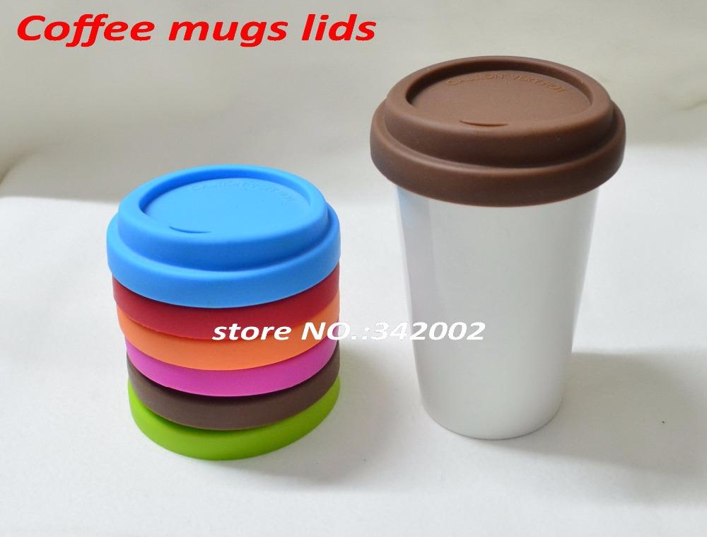 Wholesale Silicone Lids For Coffee Mug Anti Dust Seal