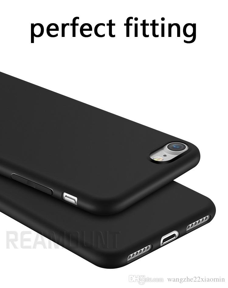 3D Relif Personalized DIY Customize LOGO TPU Black Phone Case Cover for iphone 7 7plus Mobile Phone Case