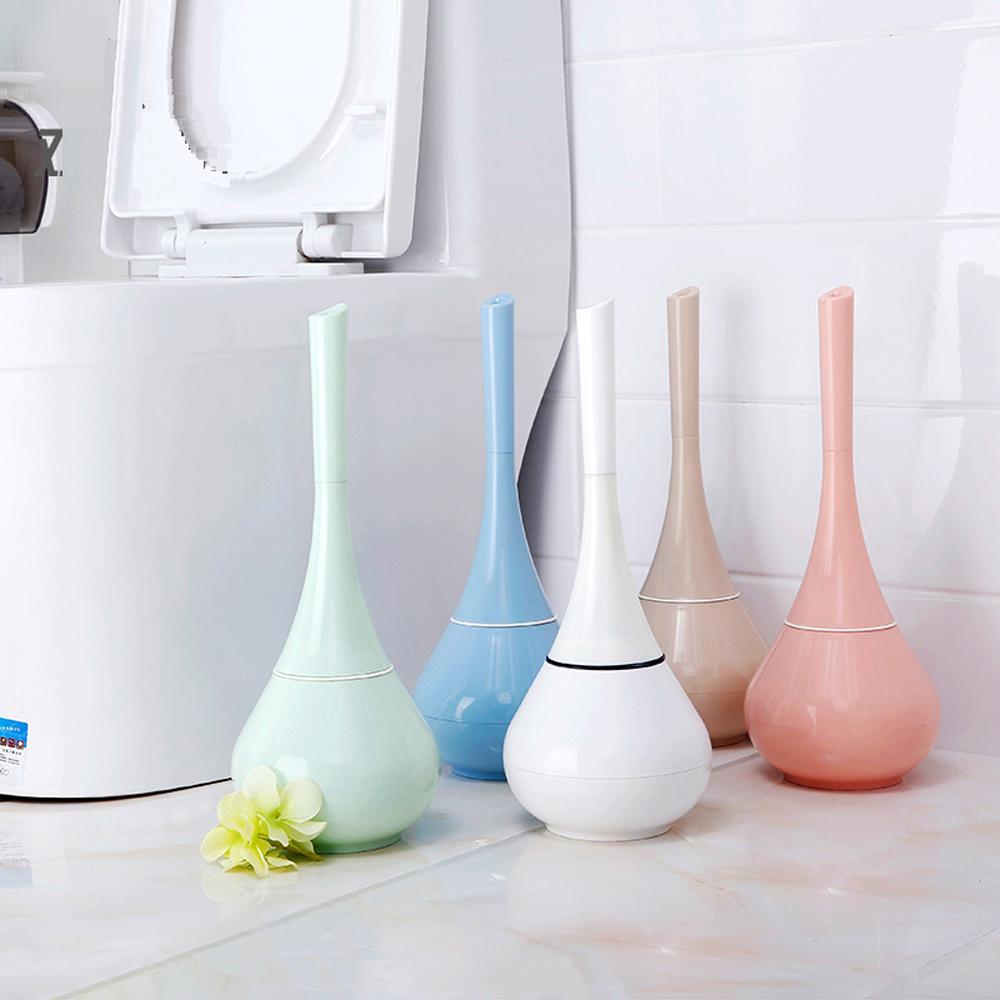 2018 Fashion Toilet Brush & Holder Standing Set Bathroom Accessories ...