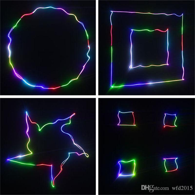 Mini RGB Red Green Blue DMX 512 Remote Sound Projector Stage Equipment Light DJ KTV Show Holiday Laser Lighting DM-RGB400