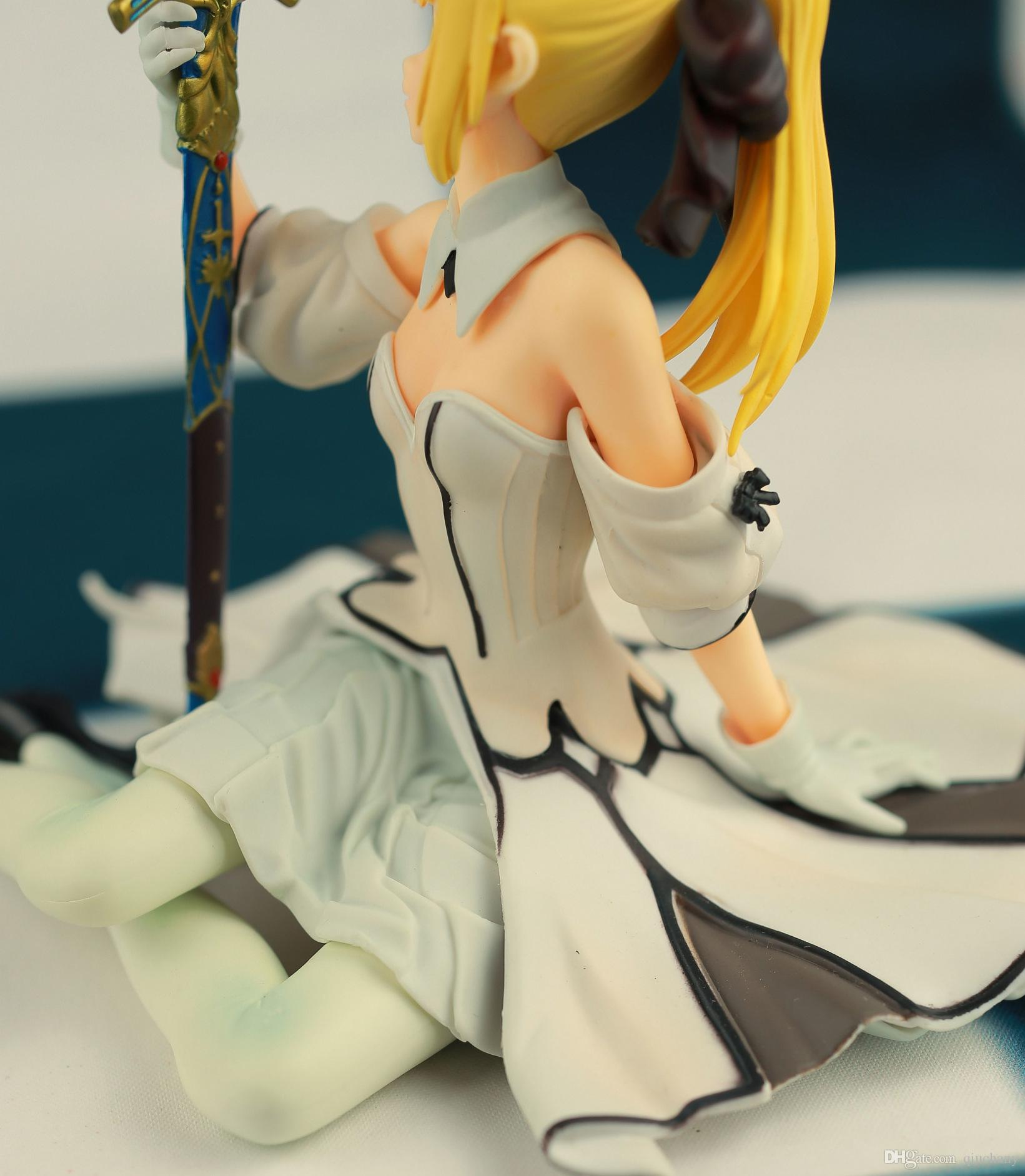 170602 Qiuchang Fate Stay Night 3 Generations Altria Pendragon Saber Lily Action Figure Toy Collection Hobby Gift Doll
