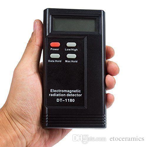 Nouveau Détecteur de rayonnement électromagnétique EMF Meter Testeur Dosimètre de rayonnement Ghost Équipement de chasse DT-1180 DT1180