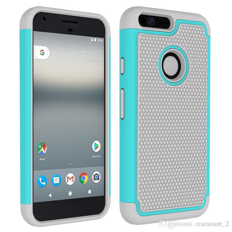 new arrivals 39ac4 6fe20 Compre Atacado Para Google Pixel Case Silicone 3 Em 1 Híbrido ...