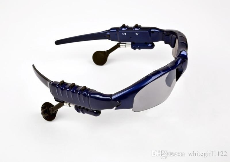 Lunettes de soleil sans fil Bluetooth à bascule Casque stéréo MP3 Musique Lunettes Écouteurs Casque pour téléphone mains libres / Tablet PC c5