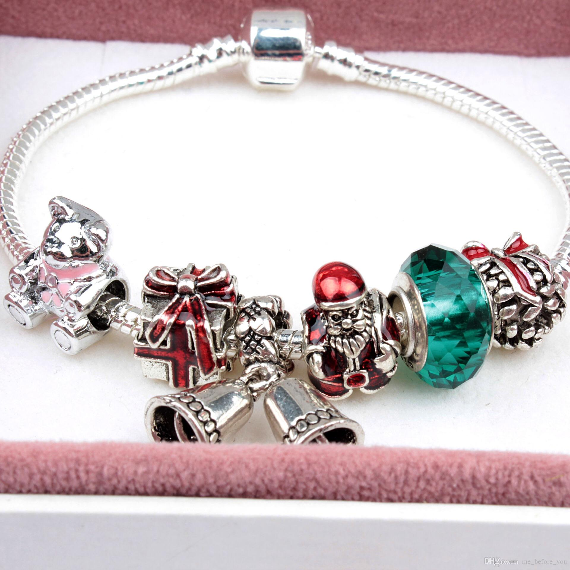 2017 Newest Popular Charm Bracelets Style Christmas Gift